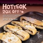 DEAL: Gami Chicken – 20% off Hotteok (Korean Sweet Pancakes) until 9 March 2021