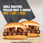 DEAL: Hungry Jack's App – Buy One Get One Free Grill Masters Pulled Beef & Angus Burgers (until 5 April 2021)