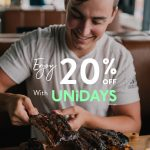 DEAL: Ribs & Burgers – 20% off for UNiDAYS Members