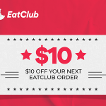 DEAL: EatClub – $10 off Next Order at In App Ordering Venues (until 30 April 2021)