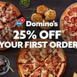 DEAL: Domino's – 25% off First Order via Menulog (until 11 April 2021)