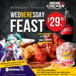 DEAL: Nene Chicken – $29.95 Wed-nene-sday Feast with 45 Day Premium Animelab on Wednesdays (until 5 May 2021)