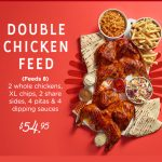DEAL: Oporto – $54.95 Double Chicken Feed