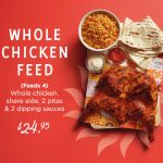 DEAL: Oporto – $24.95 Whole Chicken Feed