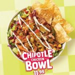 DEAL: Salsa's – $11.95 Chipotle Chicken Bowl