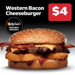 DEAL: Carl's Jr – $4 Western Bacon Cheeseburger via App (until 19 May 2021)