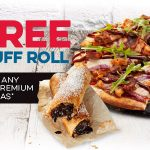 DEAL: Domino's – Free Choc Lava Puff Roll with Traditional/Premium Pizza Purchase for First 1,000 Daily (until 9 May 2021)