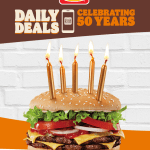 DEAL: Hungry Jack's Daily App Deals from 3-7 May 2021