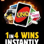 Hungry Jack's UNO – 1 in 4 Chance to Instantly Win Share of $87 Million in Prizes
