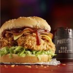 NEWS: KFC Craft Beer Burger with Beer Marinated Tenders (Selected Stores)