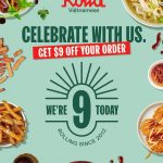 DEAL: Roll'd – $9 off with $30 Spend via Website or App (7 May 2021)